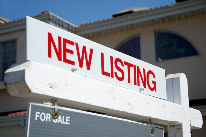 New Listing Sign to Find Real Estate Deals