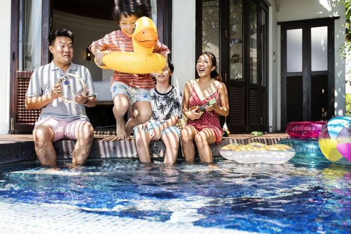 having a pool at your new investment property purchase in MN